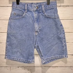 Vintage Lee High Waisted Jean Shorts